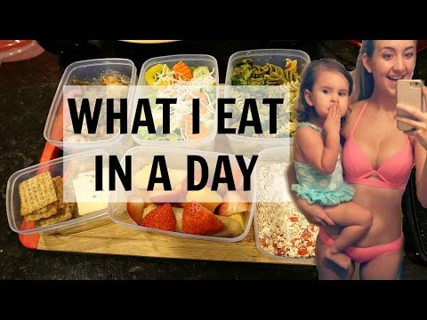 WHAT I EAT IN A DAY! 2017 MEAL PREP l EASY & HEALTHY