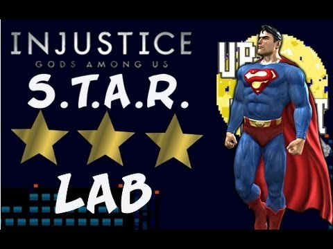 STAR Labs Mission #4 Superman- 3 STARS ☆☆☆ - INJUSTICE: Gods Among Us- Heating Up