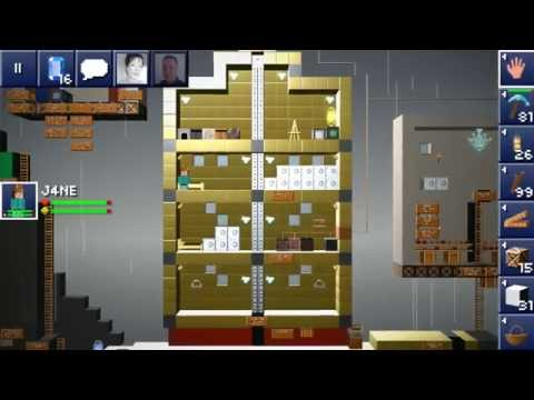 The Blockheads - How to make an elevator