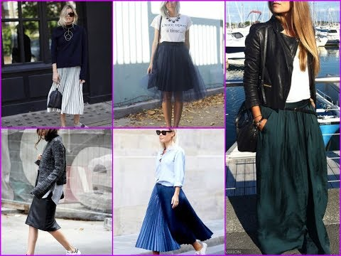 30 Trendy Outfit Ideas with Skirt for Spring\Summer 2018