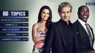 UNDISPUTED Audio Podcast (6.15.17) with Skip Bayless, Shannon Sharpe, Joy Taylor   UNDISPUTED