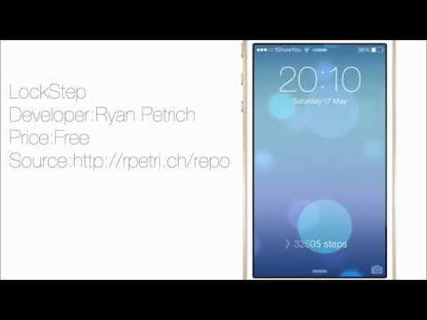 LockStep: Display Steps Taken Right From Your LockScreen On iOS 7