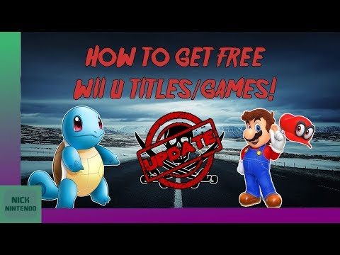 [UPDATED!] How to GET Free Wii U Games! [5.5.2] [2018] [FREESHOP]