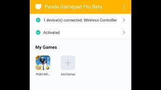 how to Solve licensed problem panda gamepad pro & panda