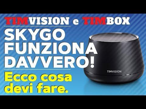 TIMvision e TIMbox (2018): Sky Go Funziona
