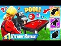 PLAYING POOL W PROXIMITY GRENADE For LOOT Fortnite
