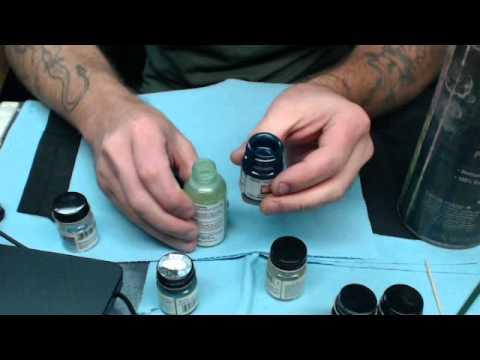 my enamel painting procedure