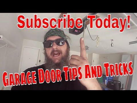 Installing A Garage Door - Easy Diy!