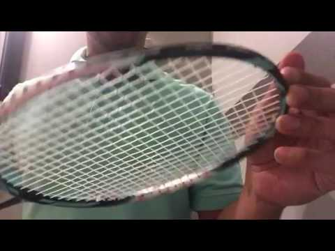 Badminton Stringing Sound Check Victor w/ 24 lbs