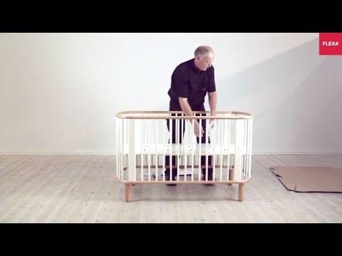 FLEXA Baby Cot Bed Assembly Instruction