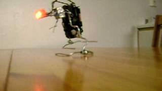 homemade walking robot