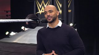 """What excites Trevor """"Ricochet"""" Mann most about joining the WWE Performance Center?"""