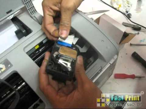 How to Replace Printhead Epson R1390