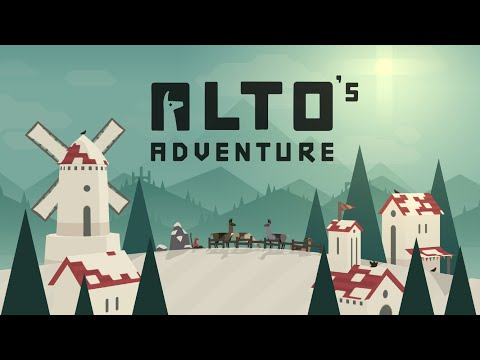 Alto's Adventure, Tutorial, Game Play Video Review 2015