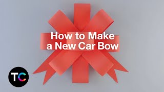 How to Make a New Car Bow   TrueCar