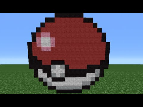 Minecraft Tutorial: How To Make A Pokeball