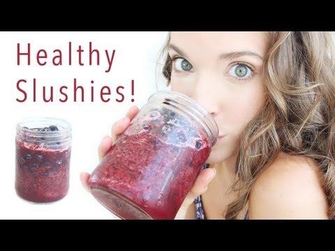 HEALTHY FRUIT SLUSHIES!