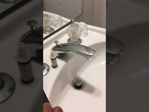 Bathroom Faucet  leak fix- Older model Moen (bubble type) 91113