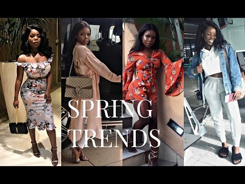 Spring Fashion Trends Lookbook | Outfit Ideas for Spring 2017