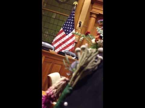 City Hall, Jersey City - mass gay wedding. Part 2