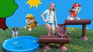 PAW PATROL Water Table Surprise with PJ Masks and Puppy Dog Pals and Emoji Movie