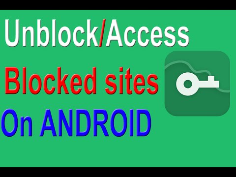 Android | access blocked websites on android |VPN Master| alot of servers