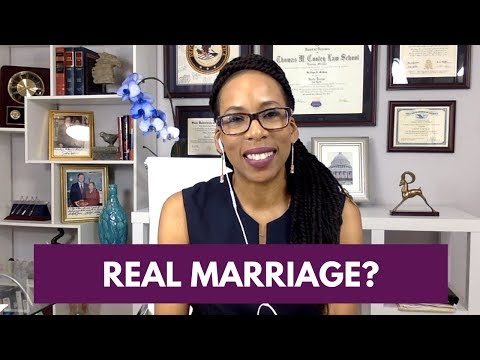 Proving Genuine Marriage on Immigration Petition (Immigration 101) [2018]
