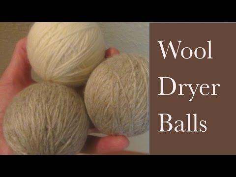 How to Make Wool Dryer Balls Cut Drying Time DIY