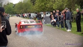 How to Nearly Crash Your Ferrari F40