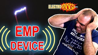 Destruction with EMP Device, Understand and Battle EM Interference