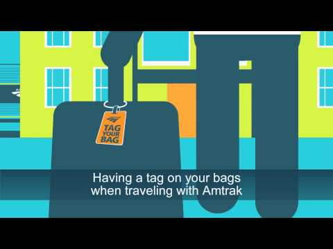Amtrak Travel Tip: Don't Forget to, Tag Your Bag