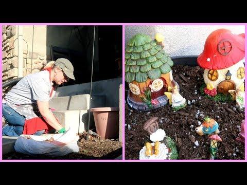 Clean With Me / Lawn, Porch & Fairy Garden