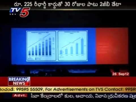 AIRCEL New Offer 2GB Data For 225Rs (TV5)