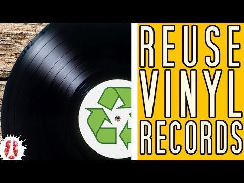 What Can Be Made Out Of Vinyl Records (LP)? #VinylRecords #DIY