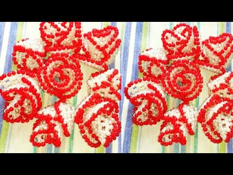পুতির গোলাপফুল||How to make beaded rose||beads flower||Putir golap||diy craft
