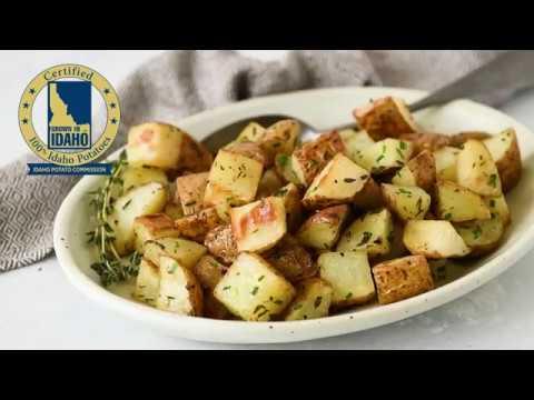 How to Roast Idaho® Potatoes