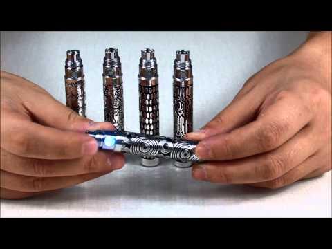 Batteries eGo T 650mAh avec gravure