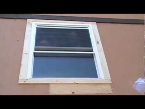 Remove, Replacing & installing replacement aluminum window with vinyl windows - tax refund
