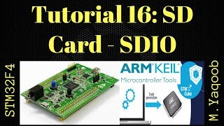 12 SD card Programming on STM32F7 Discovery Board using Keil