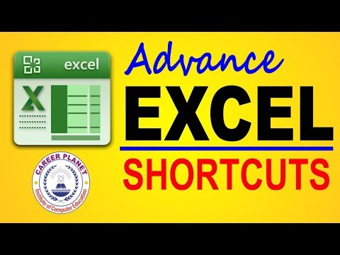MS EXCEL- ADVANCE SHORTCUT KEYS Part-2 |Learn Excel in Hindi