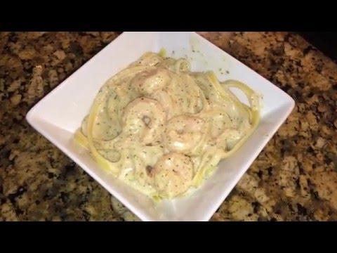 Spicy Garlic Shrimp Alfredo Recipe
