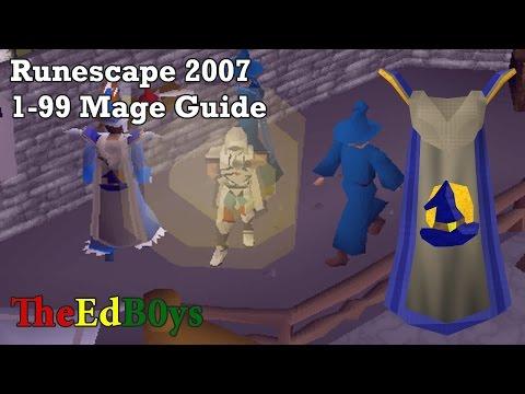Runescape 3 1-99 magic guide fastest 2018 youtube.