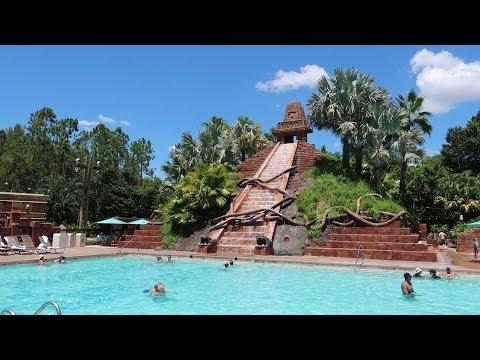 Walt Disney World Coronado Springs Resort   Resort Tour With Construction & Food Locations