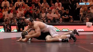 Iowa at Ohio State - Wrestling Highlights