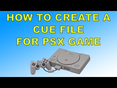 How to Create Cue file For PlayStation 1 Game