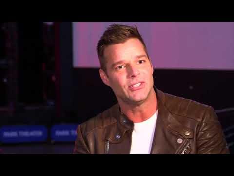 Ricky Martin talks to Rosanna Scotto