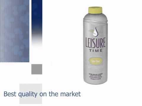 Leisure Time Spa Filter Clean - Overnight Soak - Hottubworks.com