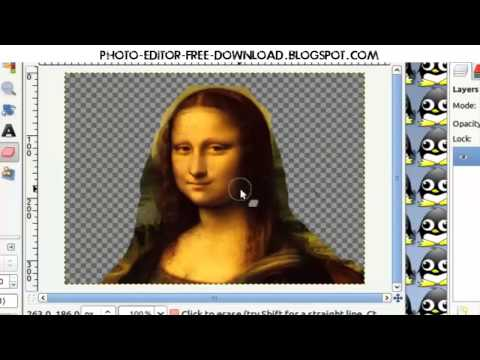 How to Change/Edit Photo Background -Tutorial and Download Free Software