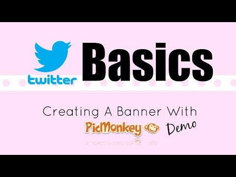 Picmonkey : How To Create A Twitter Banner