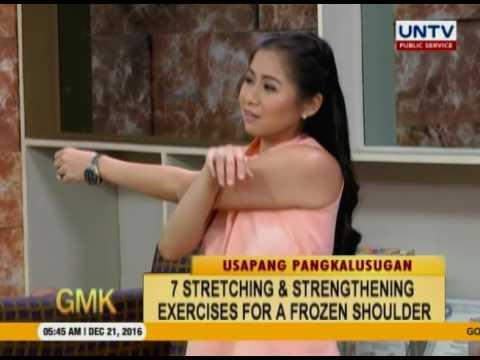 Exercises for Frozen Shoulder (Usapang Pangkalusugan)